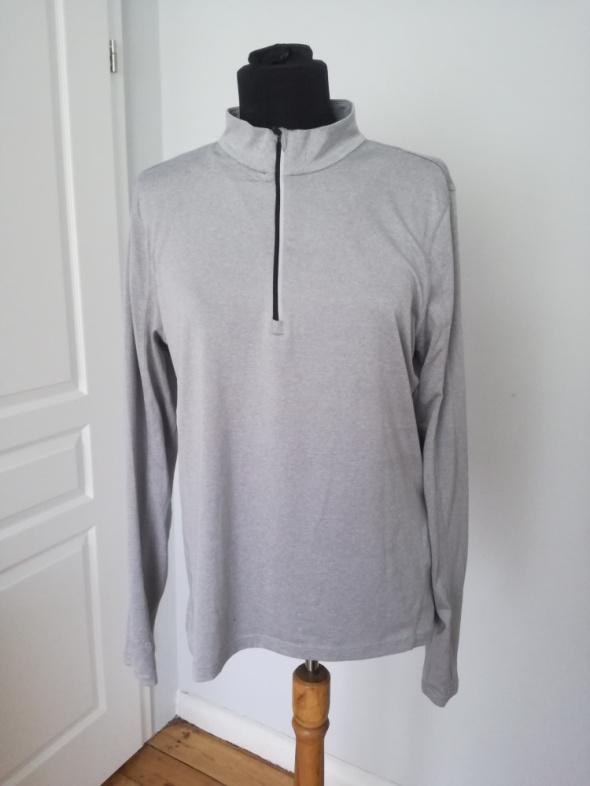Bluzy Szara bluza sportowa rozmiar 38