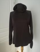 H&M czarna lekka bluza sportowa rozmiar L