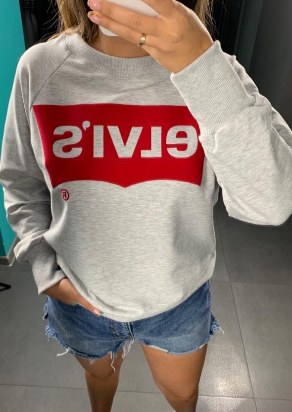 Bluzy Bluza damska z nadrukiem S M L XL