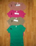 Vero Moda bluzka krótki rękaw kolory roz M...