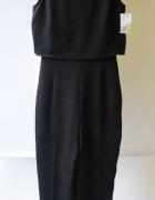 Kombinezon Czarny NOWY H&M XS 34 Elegancki Spodnie...