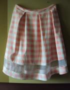 spódnica z transparentnym pasem...