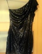 Śliczna cekinowa sukienka marki GODDESS