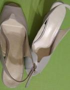 Jasnoszare buty rozmiar 37