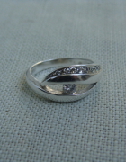 Pierścionek srebrny...