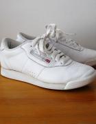 Reebok Princess Białe Adidasy 36 Skóra Naturalna...