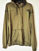 EASTON Bluza męska z kapturem podarta fabrycznie XL