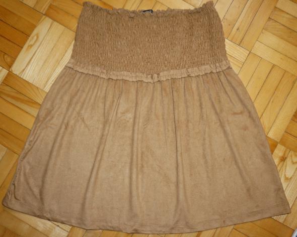 Spódnice Spódniczka welurowa