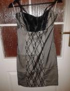 Sukienka wizytowa z koronka