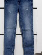 Cropp jeansy marmurki...
