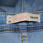 Cropp jeansy marmurki