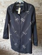 Koszula z greckim wzorem