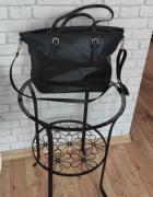 Czarna torebka shopper bag...