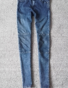 Jeansy rurki Reserved xs...