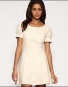 Koronkowa sukienka ASOS...