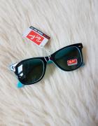 Ala Ray Ban RB2140 Wayfarer Sunglasses Top Black on Transparent...