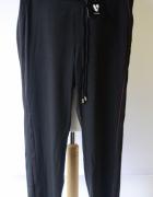 Spodnie Czarne L 40 Lampasy Eleganckie Wizytowe V by Very...