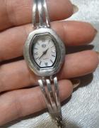 zegarek srebro z masa perłową...