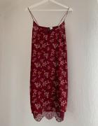 bieliźniana sukienka na ramiączkach z koronką...