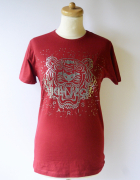 Bluzka Czerwona Kenzo M 38 T Shirt Czerwień Koszulka...