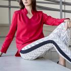 Czerwona bluzka ZARA 38