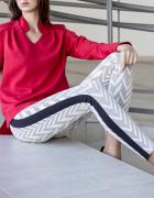 legginsy z lampasem nowe S H&M
