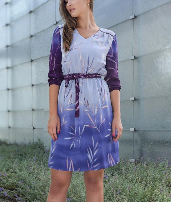 Cieniowana sukienka MOHITO 36 nowa...