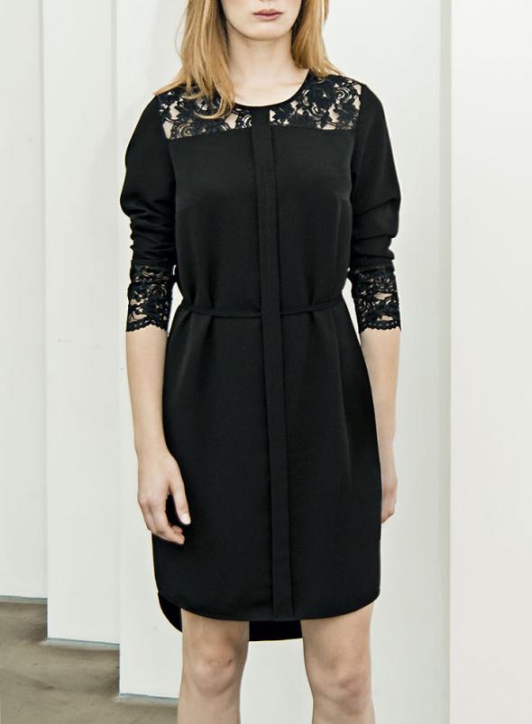 Suknie i sukienki Mała czarna z koronką