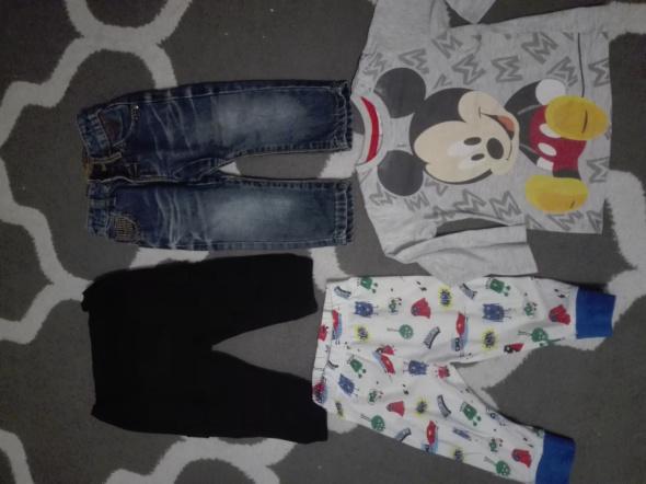 Ubranka dla chłopca 74