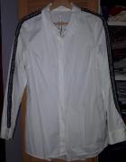 Nowa koszula Zara z ozdobnym lampasem...