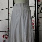 spódnica długa midi biała maxi boho