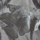 top koszulka bluzka na ramiączkach srebrna