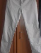 elegancie męskie spodnie z materiału rozmiar L