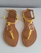Żółte sandałki japonki New Look rozm 37...