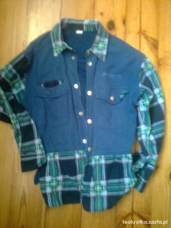 Bluzy Bluza z kołnierzykiem