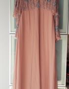 Nowa sukienka maxi Asos bogato zdobiona rozmiar M...