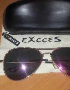 okulary przeciwsłoneczne polaryzacyjne EXCCES aviatory