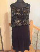 Czarna letnia sukienka H&M 40...
