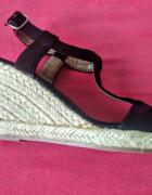Nowe sandałki espadryle na koturnie 36...
