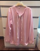 Różowa damska bluza 46...