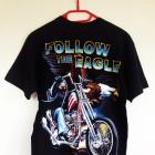 Koszulka krótki rękaw Wild Follow the eagle M 38 nowa męska metal rock