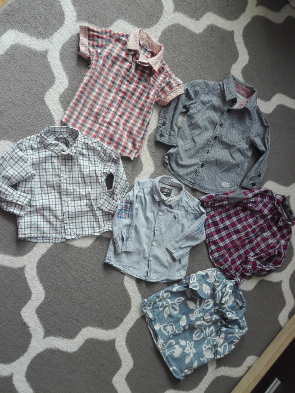 Koszulki, podkoszulki Koszule chłopiec różne rozmiary