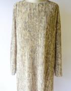 Sukienka H&M Plisowana Kwiaty Oversize M 38...