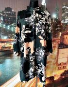 river island sukienka koszulowa kwiaty casual floral 40 42...