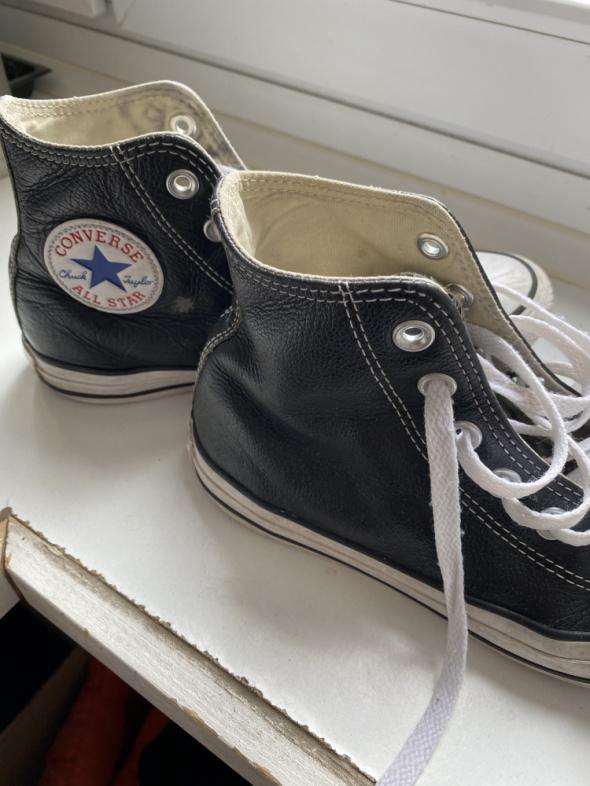 Skórzane trampki Converse