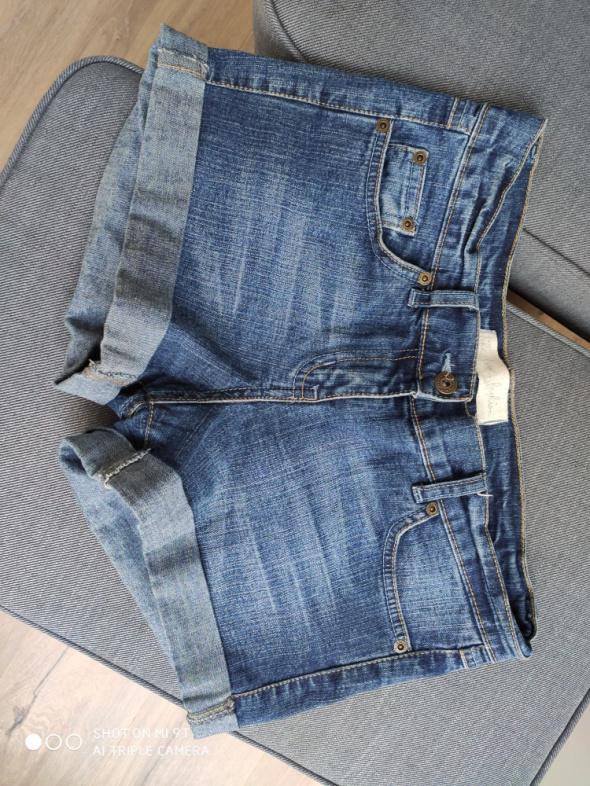 Spodenki Spodenki szorty jeansowe niebieskie granatowe rozmiar M
