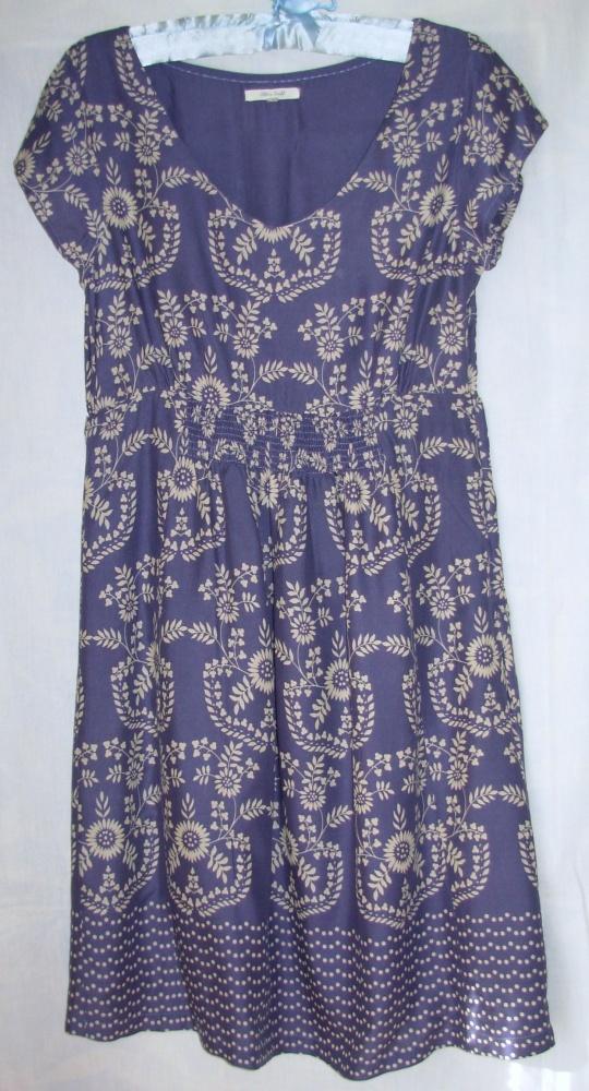 Sukienka z wiskozy White Stuff 38...