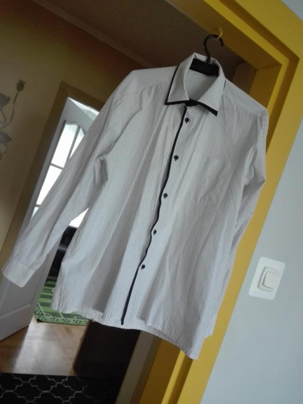 Koszula męska paski w Koszule Szafa.pl  bc12R