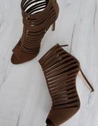 Zara gladiatorki szpilki