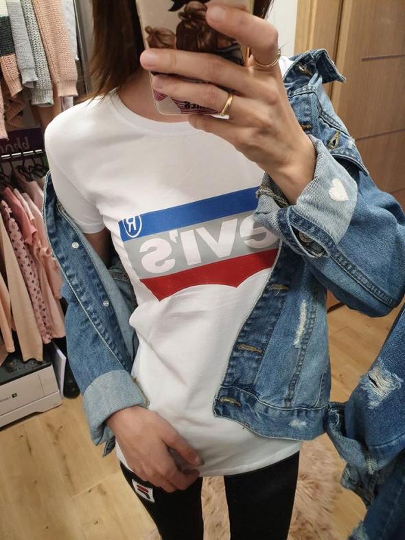 Biała koszulka Levis SMLXL